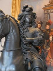 Statue equestre Louis XIV, Château de Versailles